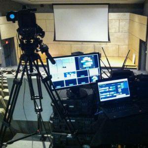 video technicians